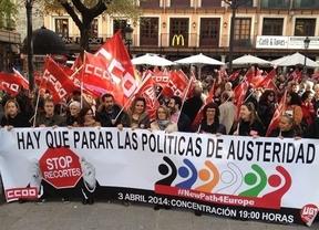 Los sindicatos reclaman a la Unión Europea un plan de inversiones para crear empleo