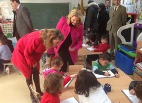 Cospedal anuncia que el programa 'Abriendo Caminos' se aplicará también a educación primaria