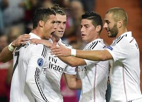 El Real Madrid se consuela en su competición estrella abusando del pobre Basilea (5-1)