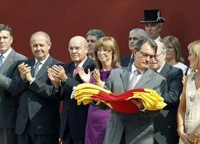 El Gobierno catalán y CiU se vuelcan con la manifestación