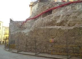 Junta y Diputación 'votan en contra' de reconstruir el muro de Alfonso VIII en Cuenca