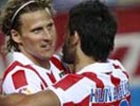 Agüero devuelve la alegría al Atleti frente al Depor (2-0)
