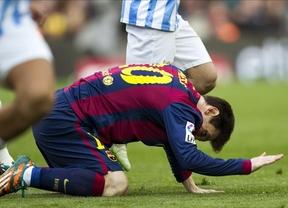 Donde menos se espera... el Málaga corta la racha del Barça y le sorprende en el Campo Nou (0-1)