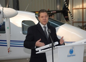 García-Page pide a Cospedal 'que se moje' con el aeródromo de Casarrubios del Monte