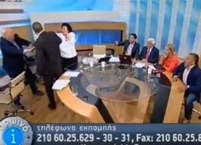 Grecia echa el cierre a la radio-televisión pública