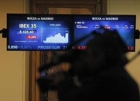 La Bolsa sigue de caída libre y la prima de riesgo deja el jueves superando barrera de los 400 puntos