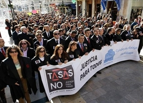 El país, en una semana de protestas: jueces, fiscales, abogados, rectores, sanitarios...