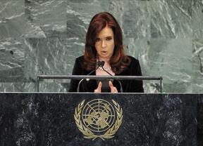 Las críticas a las cargas policiales llegan, pero desde Nueva York y por parte de Cristina Fernández de Kirchner