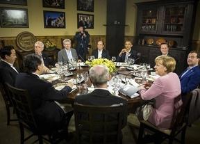 Los 8 más poderosos del mundo descartan en Camp David la recapitalización de la banca española