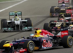 GP de Bahréin: Vettel se reconcilia con la victoria y Alonso acaba séptimo