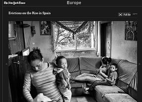 El 'New York Times' vuelve a las andadas: retrata una España propia de 'Los miserables' a costa de los desahucios