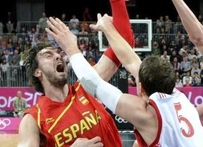 España pasa como segundo de grupo al perder frente a Rusia por 74 a 77