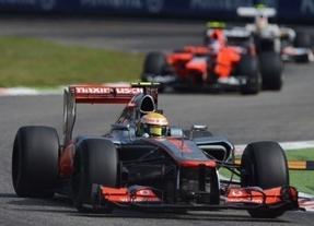 Hamilton se impone y se coloca a 37 puntos del líder Alonso, que fue segundo
