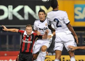El Madrid humilla y 'apaliza' al Milan con una 'manita' que lidera un Ronaldo en plena forma (5-1)