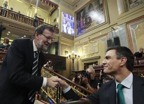 Sánchez intenta convencer de la reforma constitucional a un Rajoy que hace oídos sordos