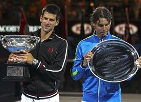 Nadal y Djokovic se verán las caras en la final de Miami sin bajarse del 'autobús': se lesionan sus rivales de semifinales