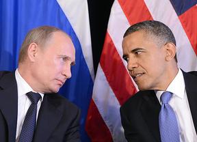 Obama y Putin negocian por teléfono y sin éxito, una solución pacífica para Ucrania ante la actuación de los