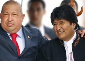 Evo Morales se encomienda ya a la oración para salvar la vida a Chávez