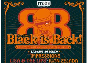El festival Black is Back Weekend golpea con soul de puro acero