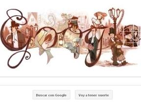 Charles Dickens ya tiene su 'doodle'