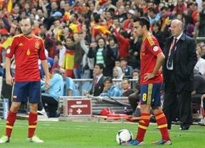 Horario dónde ponen Francia-España: los Xabis, al rescate de La Roja (este martes 26 marzo 21:00, Telecinco)