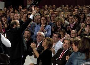 Rubalcaba, por 22 votos de diferencia, promete mantener la unidad