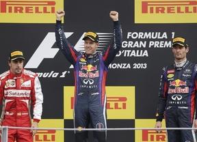Ferrari y Alonso tiran la toalla: Vettel pone rumbo al tetracampeonato