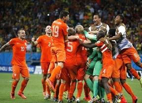 Krul, que entró para la tanda de penaltis, héroe de Van Gaal (4-3)