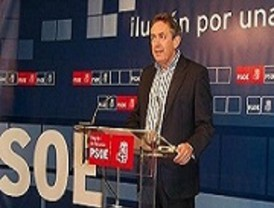PSOE considera que Valcárcel 'no es el candidato que más conviene a la Región'