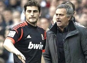 El morbo está servido: Casillas ya entrena y puede ser titular o reserva... Mou decidirá