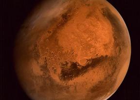 Así ve Marte la nave india Mangalyaan
