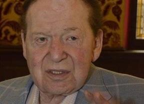 Adelson saludó al Rey pero no hablaron de Eurovegas