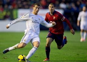 Ronaldo estrena su Balón de Oro en el siempre difícil Sadar, donde Osasuna no renuncia al milagro de la remontada