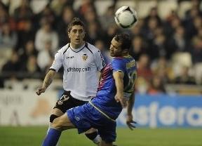 Copa del Rey. El Valencia muestra los galones y vuelve a humillar al Levante (0-3)