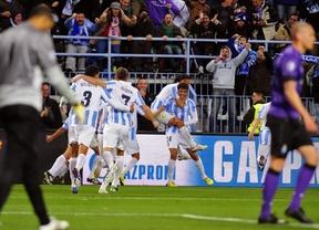 Nuevo eslogan del 'EuroMálaga', tras la hazaña de eliminar al Oporto: 'Habemus Champions'