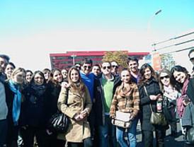 Alumnos de la EOI intercambian experiencias con directivos internacionales