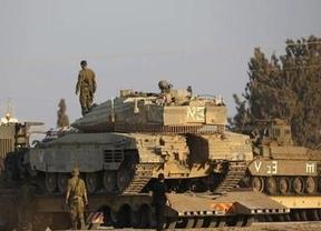 Israel inicia la operación 'Borde protector' bombardeando la franja de Gaza