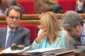 Día clave para los Presupuestos de la Generalitat tras imponerle Rajoy el límite de déficit al 1,58%