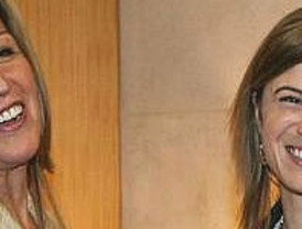 Trinidad Jiménez y Bibiana Aído, ¡sorprendidas en directo!