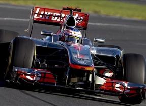 Button vuelve a conquistar Melburne y Alonso remonta hasta la quinta plaza