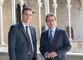 Cita en Nueva York para Pedro Sánchez y Artur Mas