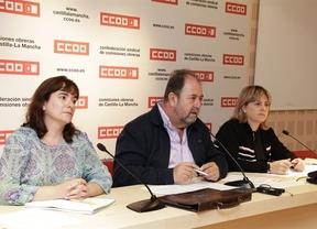 Casi 200 delegados de CCOO reclaman a Cospedal que restablezca los derechos de los empleados públicos