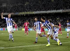 Un Madrid vulgar y blando se duerme y acaba ahogándose en el Cantábrico con una épica remontada de la Real
