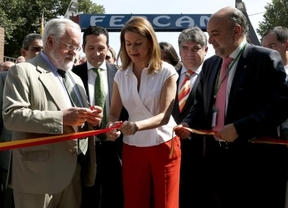 Cañete y Cospedal abren la 53 edición de la Feria Regional del Campo, FERCAM