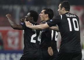 El Levante sentencia al Olympiacos con un tempranero gol de Martins (0-1)