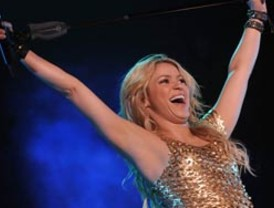 Shakira será declarada huésped de honor en Bolivia