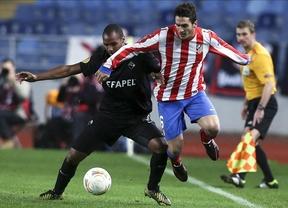 El Atlético aplaza su pase a los dieciseisavos al caer en Coimbra (2-0)