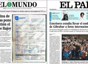 Rajoy, en entredicho por Bárcenas