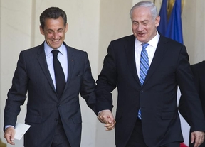 Sarkozy y Netanyahu, 'pelillos a la mar'