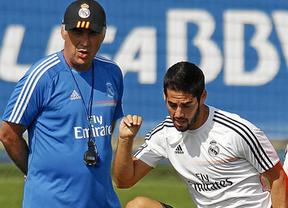 Champions: el Madrid, con Isco 'haciendo' de Bale, aspira a aprovechar el mal momento del Liverpool, su bestia negra